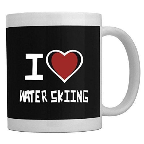 Fuuny Coffee Mugs I love Water Skiing Mug ()