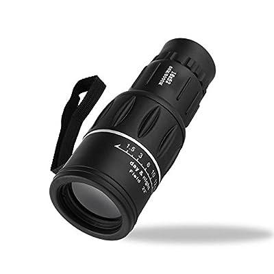 16X52 Haute Puissance Ultra Claire Télescope à Double Tonalité Télescope Extérieur à Basse Lumière Jumelles de Vision Nocturne