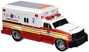 Nueva York City Veh-culos motorizados NY29000 Fdny Ambulancia motorizado con Luz y Sonido
