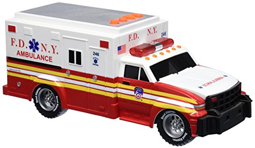 Daron-FDNY-Motorized-Ambulance-with-Light-and-Sound
