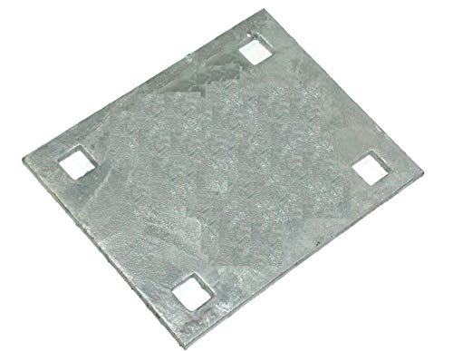 - Dock Hardware Heavy Duty 5″ x 6.75″ Backer Plate Galvanized DH-HDB