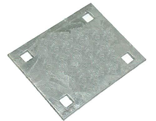 - Dock Hardware Heavy Duty 5″ x 6.75″ Backer Plate Galvanized DH-HDB