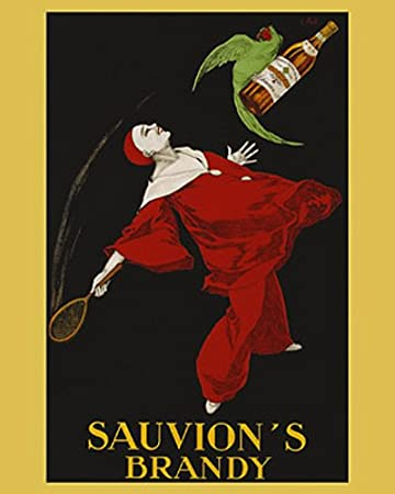 Amazon.com: Sauvion s Brandy by Leonetto Cappiello. clásico ...