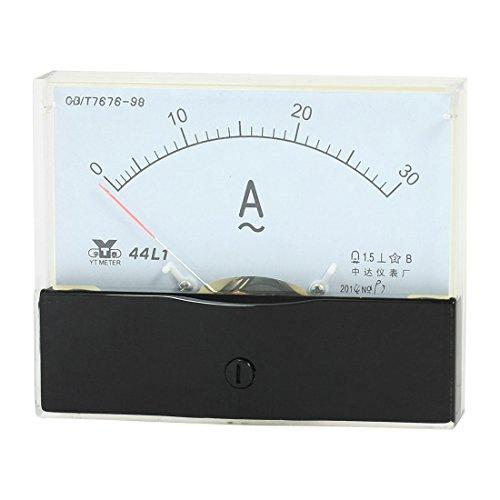 uxcell Panel Mount Analog Ammeter Gauge AC 0-30A Measuring Range 44L1 (Ammeter Analog Ac)