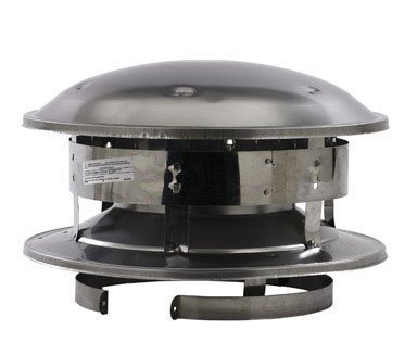 Selkirk Metalbestos 8T-CT 8-Inch Stainless Steel Round Top