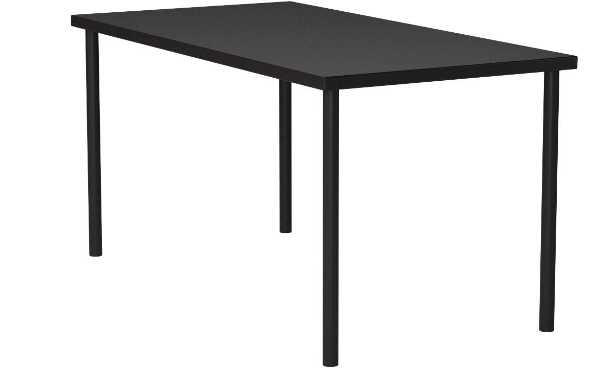 Ikea Linnmon Desk with Adils Legs Multi Purpose Table, Black-brown by IKEA