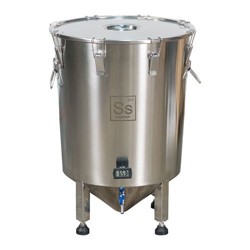 14 Gallon Stainless Steel Brew Bucket Brewmaster Edition Fermenter by Ss Brewing Technologies