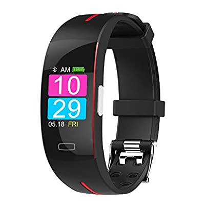 HFXLH Smart Bluetooth Bracelet Wristbands ECG PPG Blood Pressure Sport Pedometer Heart Rate Monitor Fitness Activity Tracker Watches Estimated Price £74.98 -