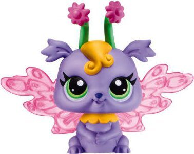 Littlest Pet Shop Enchanted Fairies Featrure Light Up Lilac Fairy
