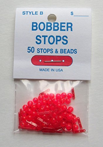 Bobber Stops - Three Hole - 50 Per Pack - Stops & Beads