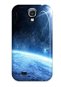 High Quality Shock Absorbing Case For Galaxy S4-star Colors Nature Stars