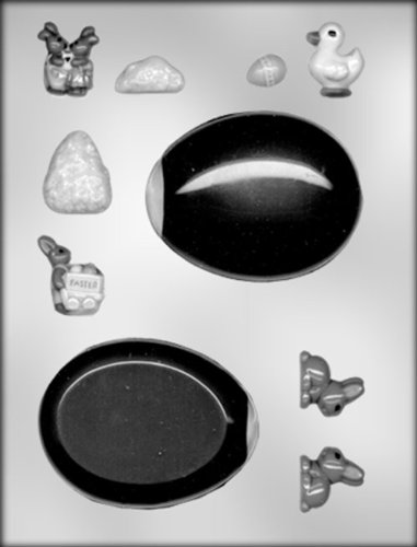CK Products Panoramic Egg/Access Choc Mold ()
