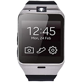 Pacoco Aplus GV18 Bluetooth phone GSM NFC Camera Waterproof Smart Watch for iPhone 4/4s