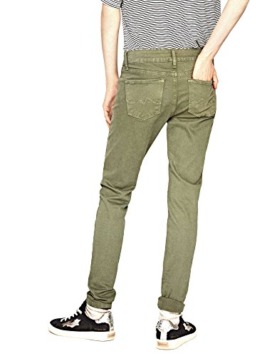 Jeans Verde Pepe Donna Soho Skinny nw6Xq4B0d