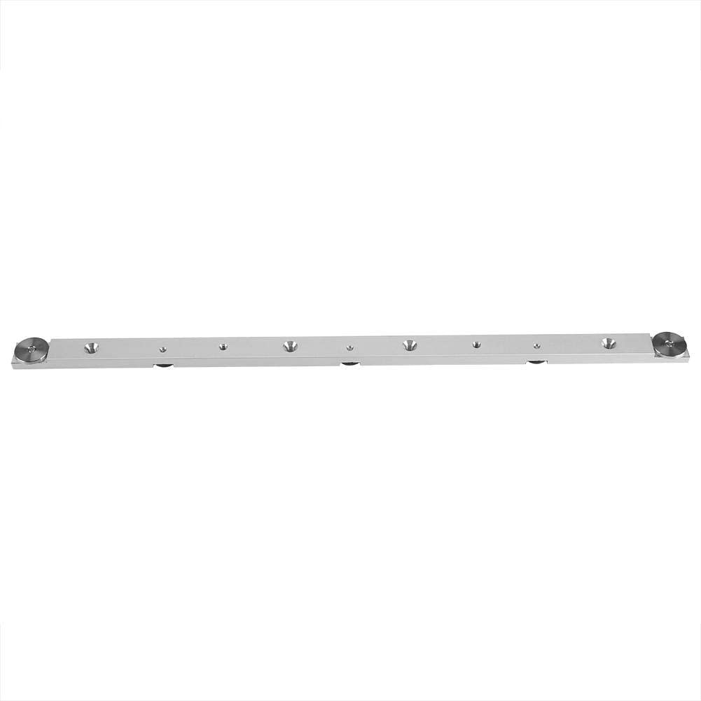 450mm // 17.71 Tnfeeon Aluminiumlegierung Miter Bar Slider Tischkreiss/äge Spurstange Holzbearbeitungswerkzeug