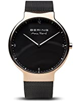 BERING Time 15540-262 Mens Max René Collection Watch with Mesh Band and Scratch Resistant Sapphire Crystal. Designed in Denmark.