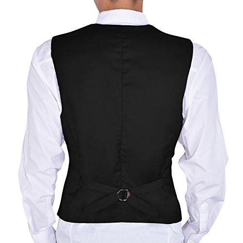 Gilet Vest Noir D'affaire Grand Hee Homme Casual qw66Ev