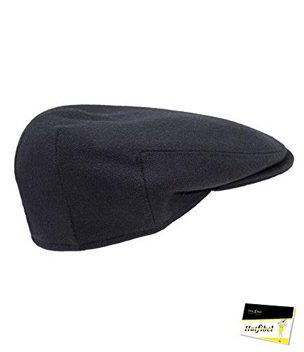 Fiebig Jungenflatcap Flatcap Schiebermütze Schirmmütze Golfermütze Herbstmütze Sportcap Gatsby einfarbig für Kinder (FI-42020-W16-JU4-83-59) in Grau, Größe 59 inkl. EveryHead-Hutfibel