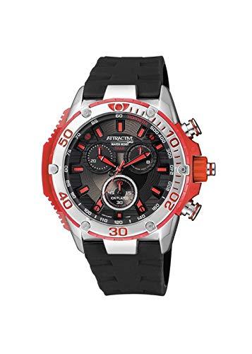 Reloj Q & Q Hombre Digital Negro de Silicona | Reloj Negro | qdg10j302y