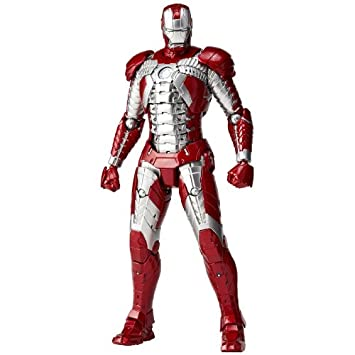 SCI FI Revoltech Series No.041 Iron Man Mark.5 (japan