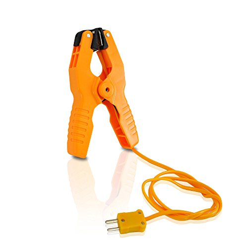 Pyle Pipe Clamp Temperature Lead - Clamp Temp Meter Tool (PCTL01) by Pyle