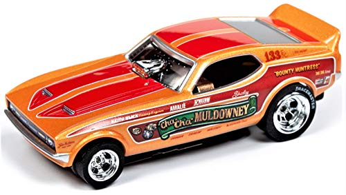 Auto World Legends Muldownney Mustang NHRA 4 Gear ho Slot car (Slot Gear Car)