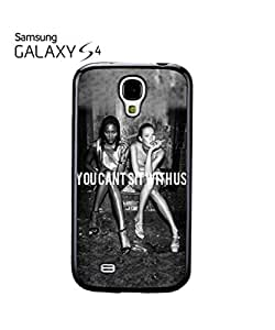 chen-shop design You Cant Sit With Us Sexy Girls Cell Phone Case Samsung Galaxy S4 White high quality