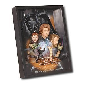 - Star Wars: Episode III - Revenge of the Sith 3-D Movie Poster Sculpture Style - A Best Buy Exclusive! by CollectibleWizard
