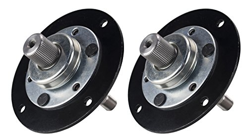 Erie Tools Two (2) Pack Lawn Mower Deck Spindle Assembly Fits MTD 717-0906A, 753-05319, 917-0906A 38