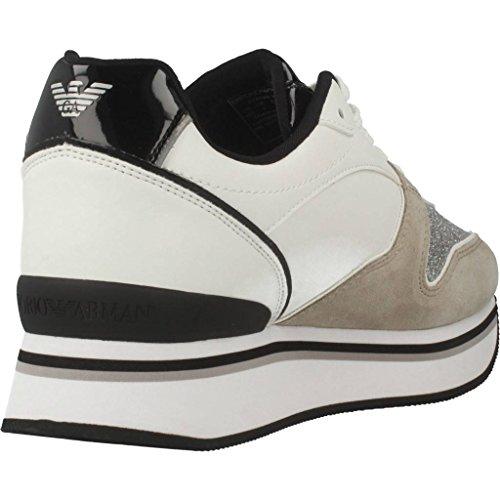 Scarpe Armani Donne Emporio Bianco Per Color Marca Sport Donne Le Bianco Xl214 Modelo X3x046 qRxdwES