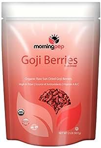 Morning Pep Goji Berries Raw Sundried, 32 Ounce