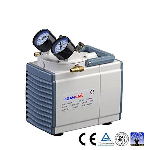 Oilless Diaphragm Vacuum Pressure Pump, 30L/min, 200 mbsr, 1 Year Warranty by JoanLab