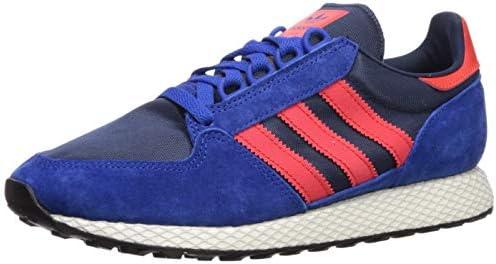 adidas Originals Men s Forest Grove Running Shoe, Power Blue hi-res red Collegiate Navy, 10 M US