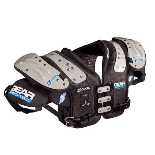 Gear Pro-Tec Z-COOL QB/WR/DB-Pro Select Football Shoulder Pads, (Db Football Shoulder Pads)