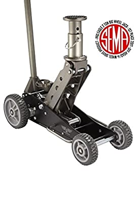 "Pro Eagle 2 Ton Big Wheel Off Road Jack, ""The Beast"", Off Road Racing High Clearance Car Jack"