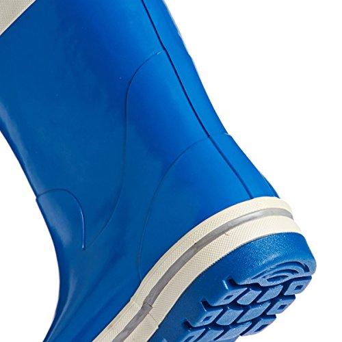 Helly Hansen JK Midsund Zapatillas de deporte, Unisex infantil Azul / Blanco / Gris