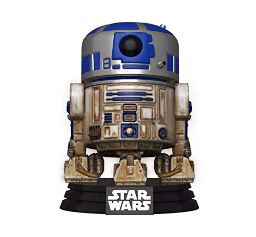 Funko 49810 Pop Star Wars-Dagobah R2-D2 - Juguete Coleccionable, Multicolor