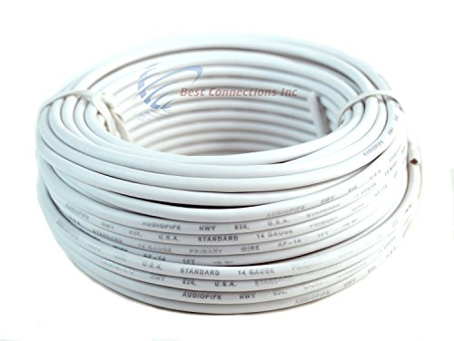 Trailer Light Cable Wiring Harness 50ft spools 14 Gauge 7 Wire 7 colors by Best Connections (Image #4)