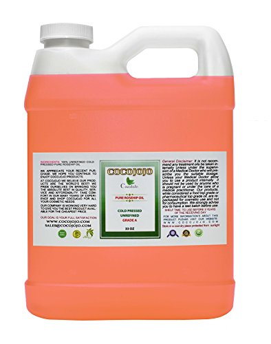 (Rosehip Oil - 100% Pure Natural Seed Oil Cold Pressed 32 oz Face Skin Unrefined Premium Grade)