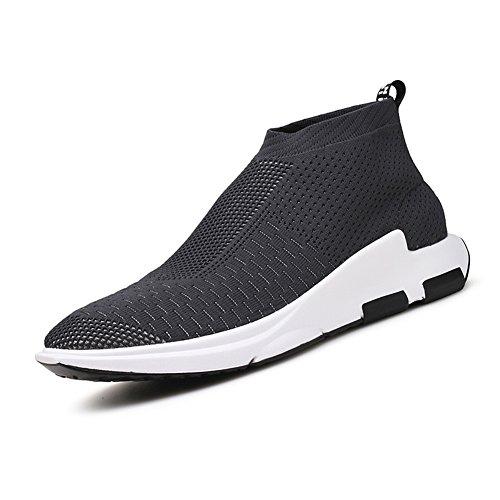 Corsa all'aperto da Running Uomo Sportive Grey Basse Respirabile corsa Ginnastica Tennis Outdoor Madaleno Scarpe Sneakers pwqtxEE8