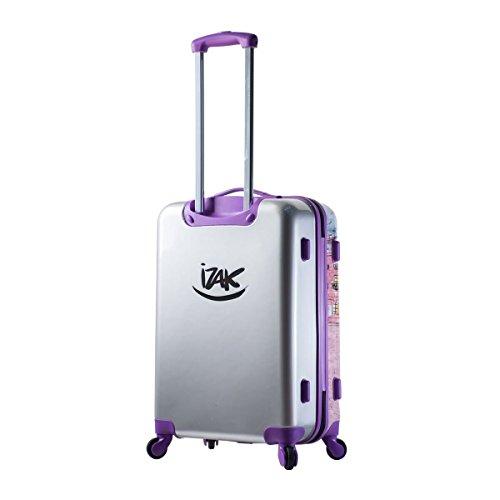 Mia Toro Izak-Paris Fashion Hard-side Spinner Luggage 3PC/Set with 10-Year Warranty--BEST GIFT for Christmas!!!!! by Mia Toro (Image #3)