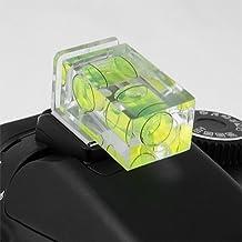 Fotodiox Hot Shoe Spirit Two-Axis Bubble Level, for Olympus PEN E-PL1, E-PL1s, E-PL2, E-PL3, E-P2, E-P3, E-M, OM-D, E-M5, Panasonic Lumix DMC-G1, G2, G3, G10, GX1, GH1, GH2, GF1, GF2, GF3, GF5, Spirit Double Axis