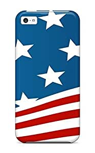 Hot Faddish Usa Flag Case Cover For Iphone 5c 6353757K15936118