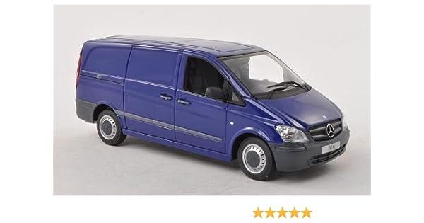 Mercedes Vito vagón caja (W639), azul, Modelo de Auto, modello completo, I-Minichamps 1:43: I-Minichamps: Amazon.es: Juguetes y juegos