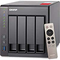 QNAP TS-451+-8G-US TS451+4-Bay 8GB RAM Personal CLD NAS Intel 2.0G with Media Transcoding
