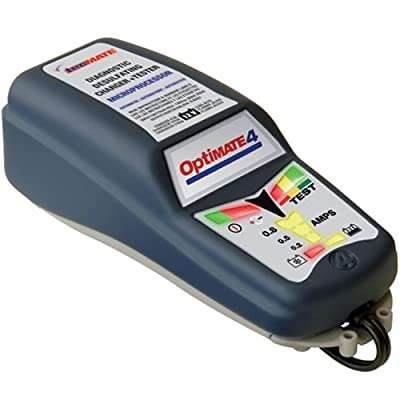 OptiMate 4 DUAL PROGRAM Battery Saving Carger, Tester, and Maintainer
