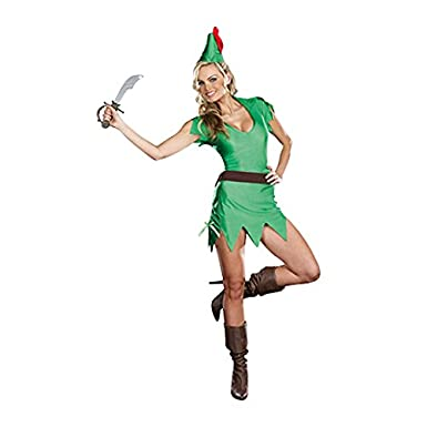 Dreamgirl Women's Pretty Pan Adult Costume