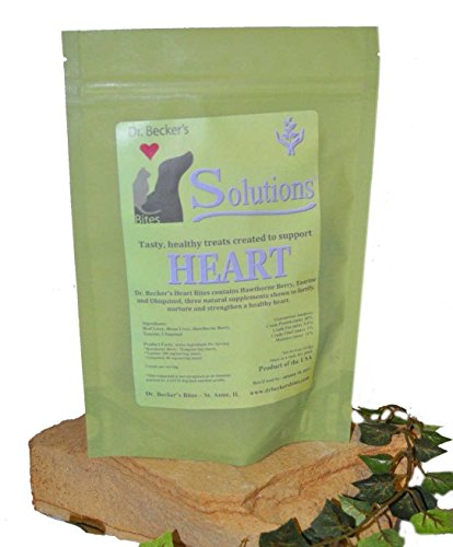 Dr. Becker's Heart Issues Solution Bites for Healthy Heart - Natural Treats for Dogs