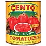 cento tomatoes chefs cut - Cento's California Chef's Cut Tomatoes case pack 6