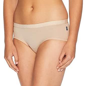 Bonds Women's Underwear Hipster Boyleg Brief, Base Blush, 10 (1 Pack)
